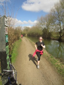 Alongside the Oxford Canal