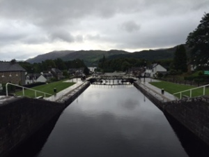 Locks at Fort Augustus
